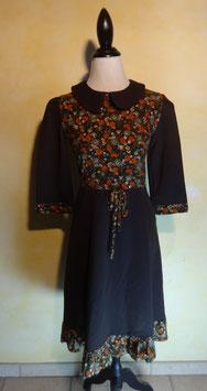 Robe à fleurs 70's T.36
