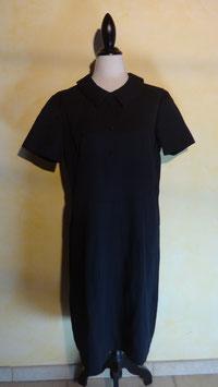 Robe laine noire 70's T.44