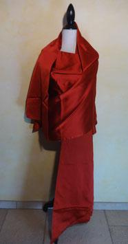Etole soie rouge
