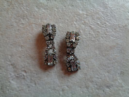 Clips strass 60's