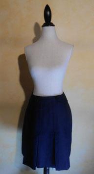Mini jupe bleue 60's T.36