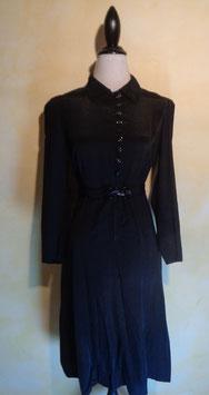 Robe noire 40's T.36