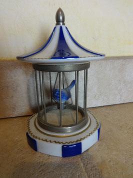 Cage à oiseau porcelaine