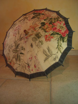 Ombrelle velours 1900