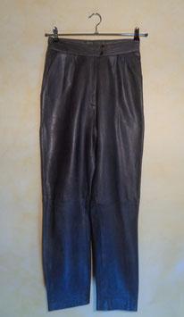 Pantalon cuir 80's T.38