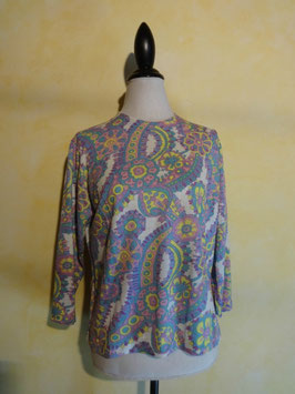 Pull cachemire violet 70's T.38