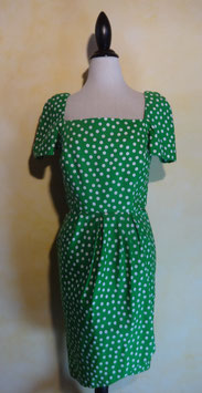 Robe fourreau pois 50's T.38