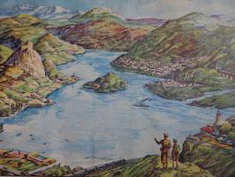 """Affiche pédagogique MDI """"le lac/le delta"""""""