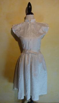 Robe blanche 50's T.36