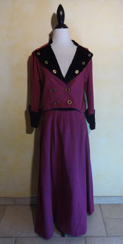 Ensemble fuschia 40's T.38