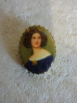 Broche femme 1900