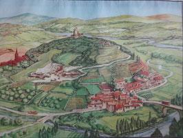 """Affiche pédagogique MDI """"la colline/le plateau"""""""