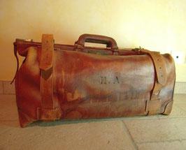 Valise cuir 1900