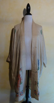 Kimono soie japonais T.U