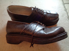 Chaussures cuir 40's P.37