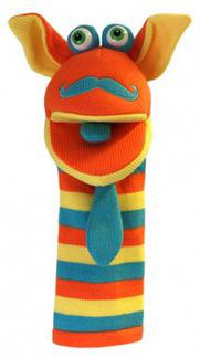 Sockettes Handpop Mango