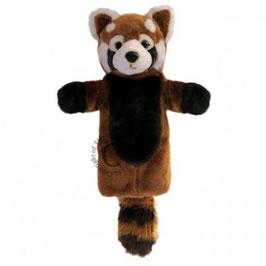 Rode panda (lange handschoen)