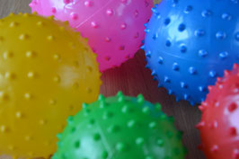 Sensorische rubberen opblaasbal