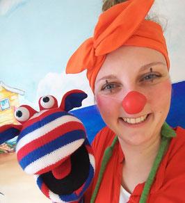 Ronde neus voor de clown - Small