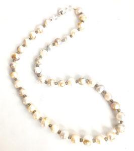 Perlenkette mit Labradorit