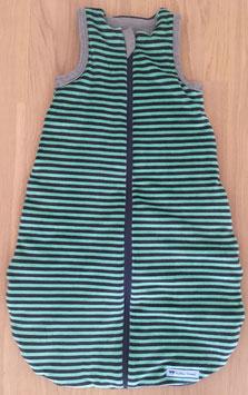 """Ganzjahres-Schlafsack """"grün Nicki"""" Länge 70 cm // Wunschlänge 50, 70 oder 90 cm möglich"""