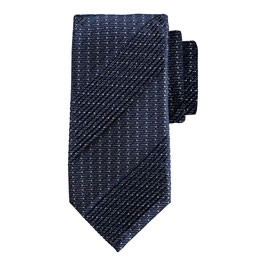 Pleated Tie                            Navy