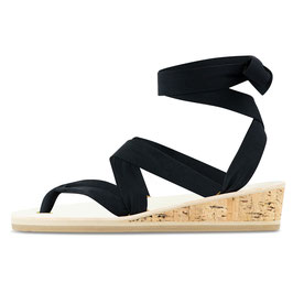 Sandale zum Binden- KEIL