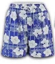 Herren Badeshorts Bermuda Shorts in blau