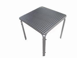 Bistrotisch Tisch Edelstahl   70 x 70 cm