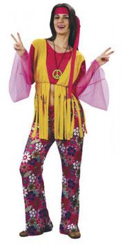 Hippie Flower Power Größe M