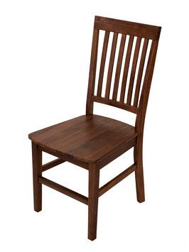 2 Stück Esszimmerstühle aus Akazienholz