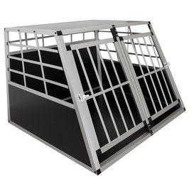 Hundetransportbox in Alu Größe XL