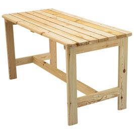 Gartentisch Tisch Kiefer massiv 150 x 65 cm