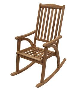 Schaukelstuhl Stuhl Teakholz