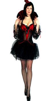 Vampir Dracula Gothic Braut Größe L=38/40