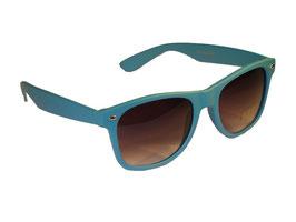 Sonnenbrille im Wayfarer Style in blau
