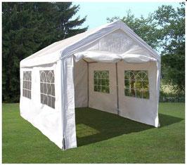 Garten Pavillon Gartenzelt Partyzelt mit Seitenwänden  in 3 x 4 Meter