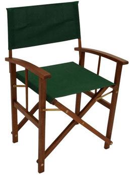 Regiestuhl Gartenstuhl Stuhl zwei Stück in grün