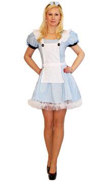 Alice im Wunderland Zimmermädchen Größe 34