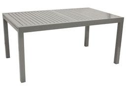 Ausziehtisch Tisch aus Aluminium 160/240 x 100 cm
