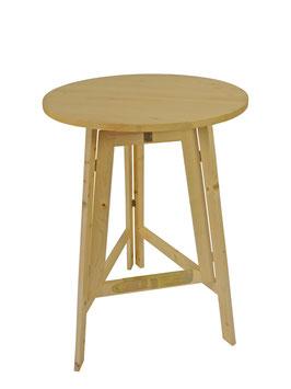 Holz Stehtisch Tisch Durchmesser 78cm