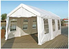 Garten Pavillon Gartenzelt Partyzelt mit Seitenwänden  in 3 x 6 Meter