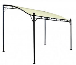 Anbau Pavillon Sonnendach 3x2,5 Meter in ecru