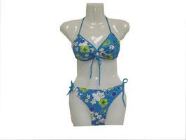 Triangel Bikini mit trendigem Flowerprint