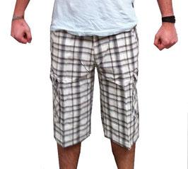 Cargo Shorts in braun Größe 28