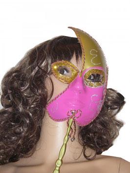Venezianische Maske in pink