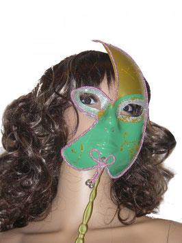 Venezianische Maske in grün