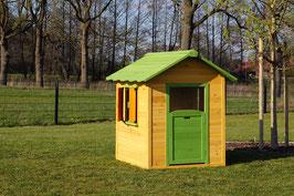 Kinderspielhaus Spielhaus aus Holz  117 x 133 cm