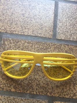 Halfshade Shutter Shades Rahmen gelb Gläser gelb