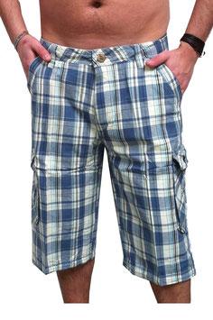 Cargo Shorts in blau Größe 28